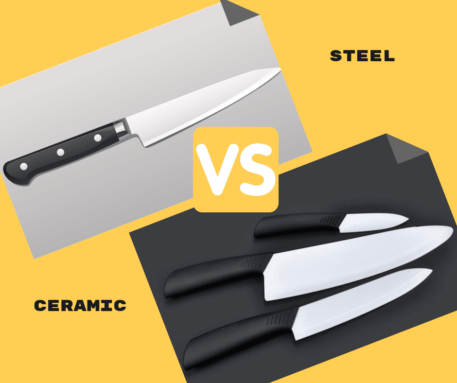 Ceramic vs steel blades