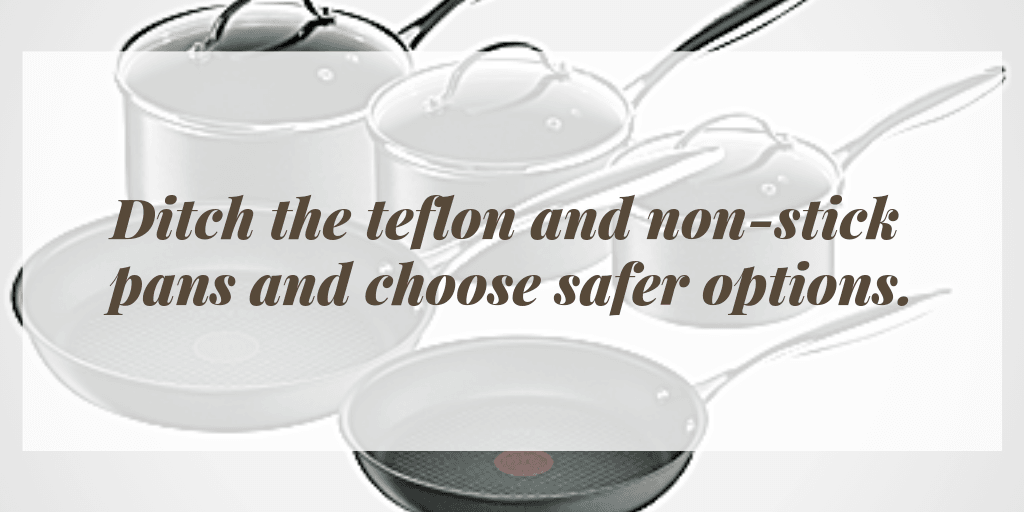 Teflon and non-stick saucepans