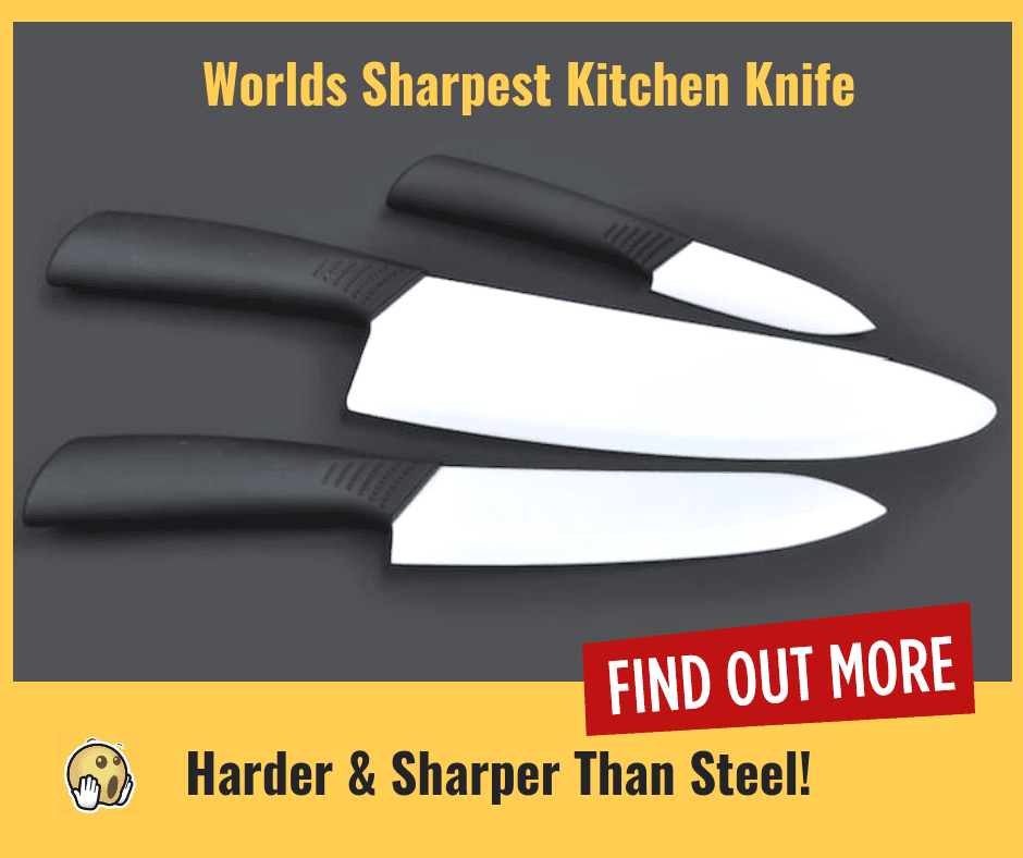 Worlds Sharpest Ceramic Knife