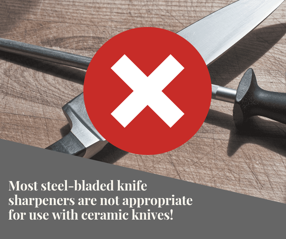How do you keep Ceramic Knives sharp