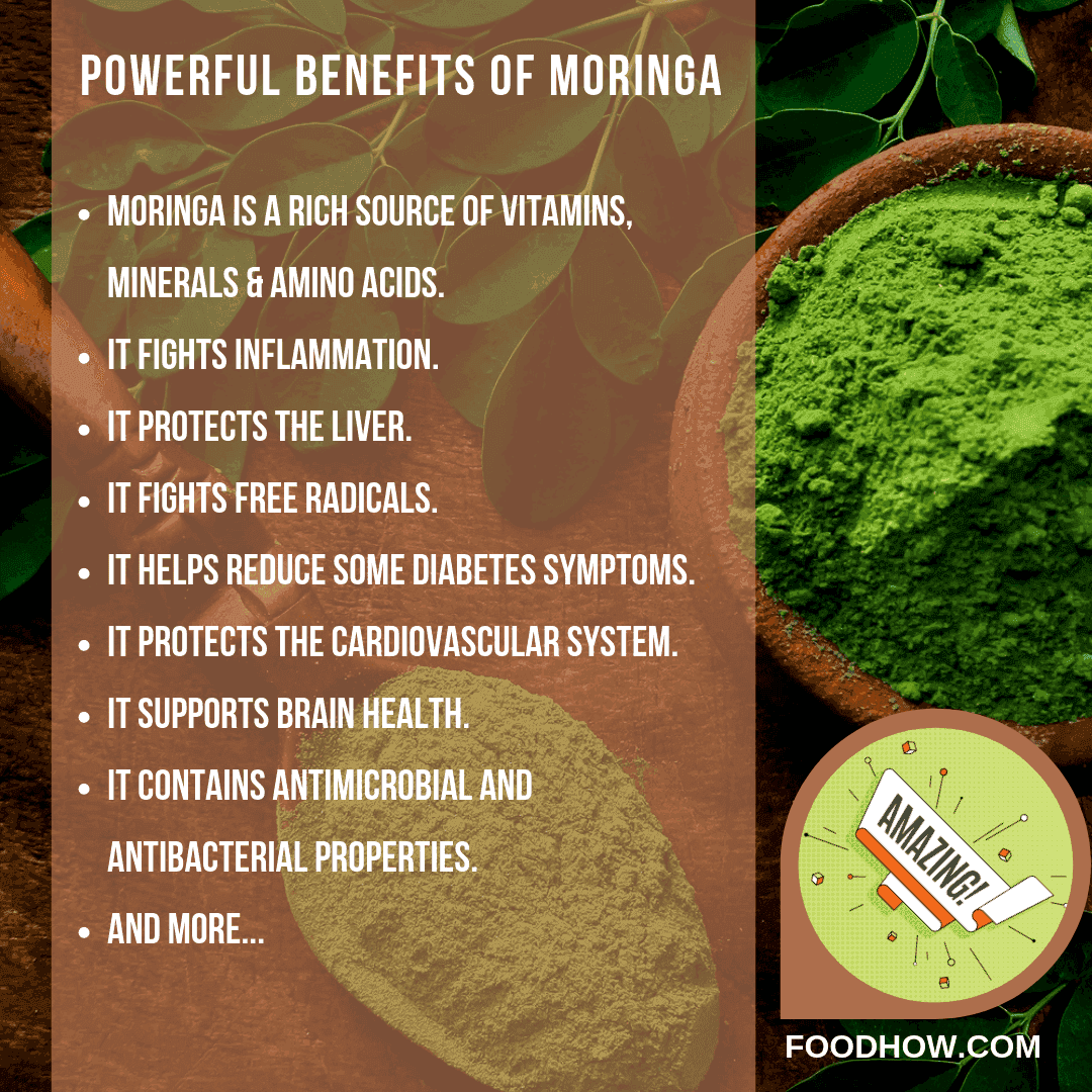 List of moringa benefits