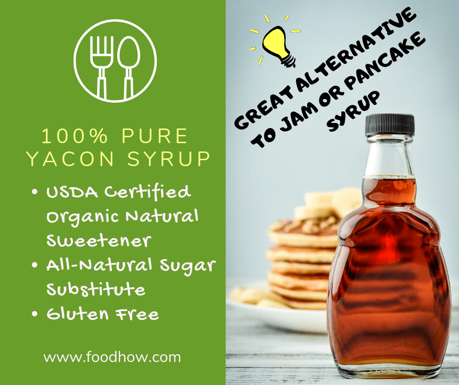 Yacon syrup natural sweetener