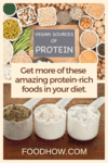 Protein-rich plant-based foods