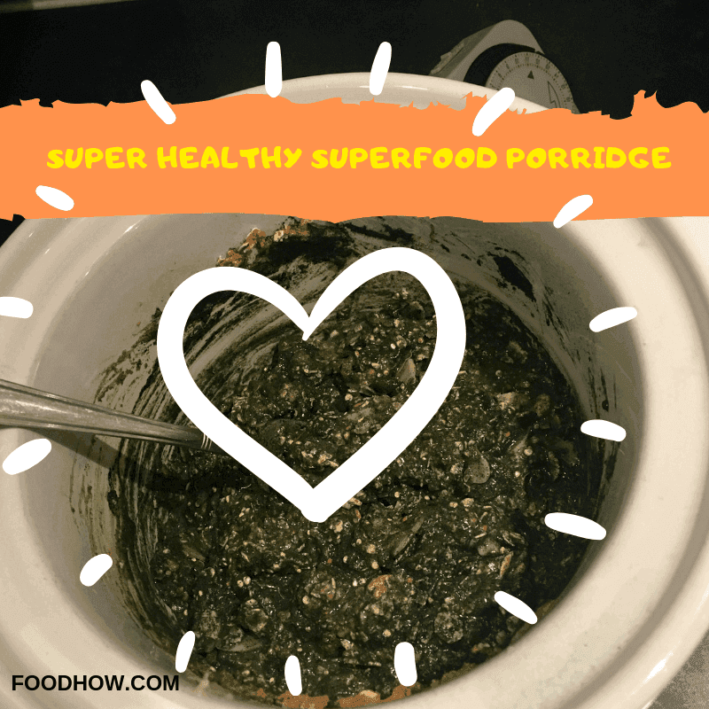 Superfood porridge