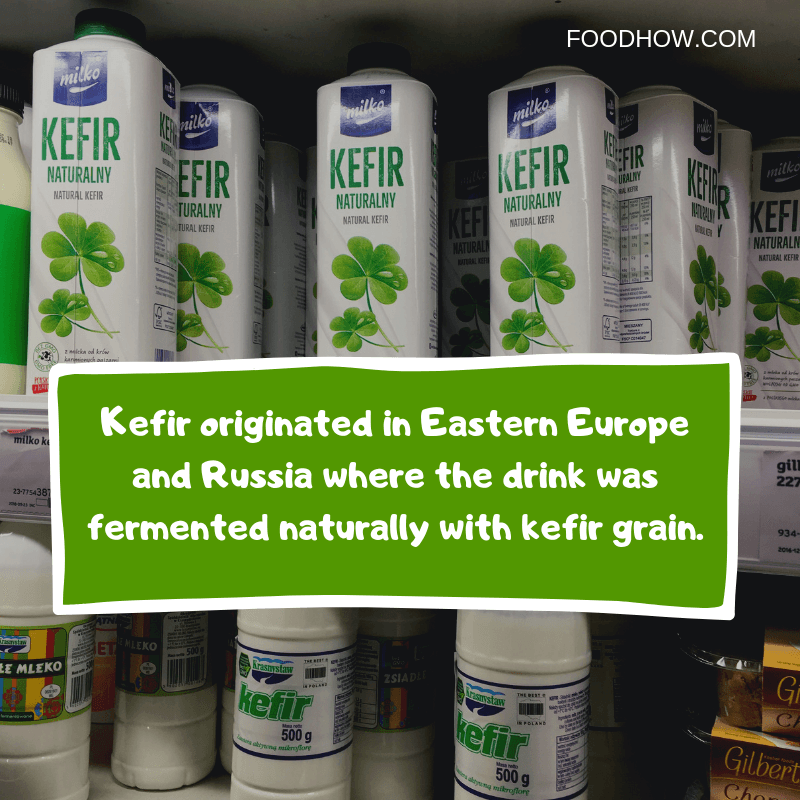 Carton of kefir