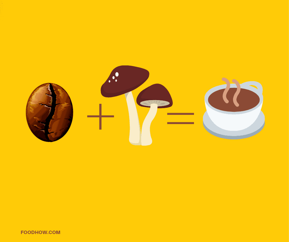 combining mushrooms and coffee