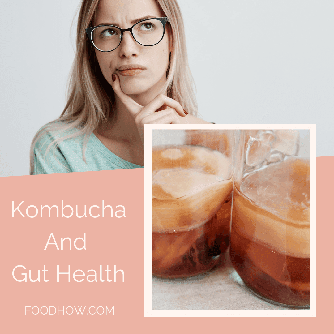 woman and probiotic drink