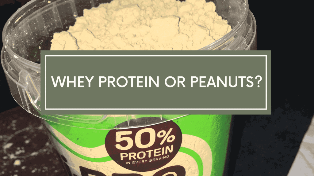Peanut Butter Powder vs Whey Protein – What's Best For Weight Loss?