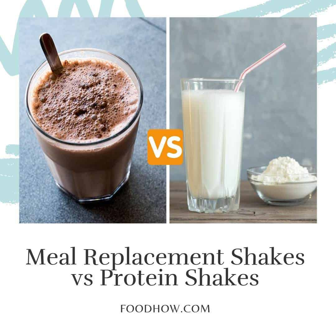 protein shake and meal replacement drink