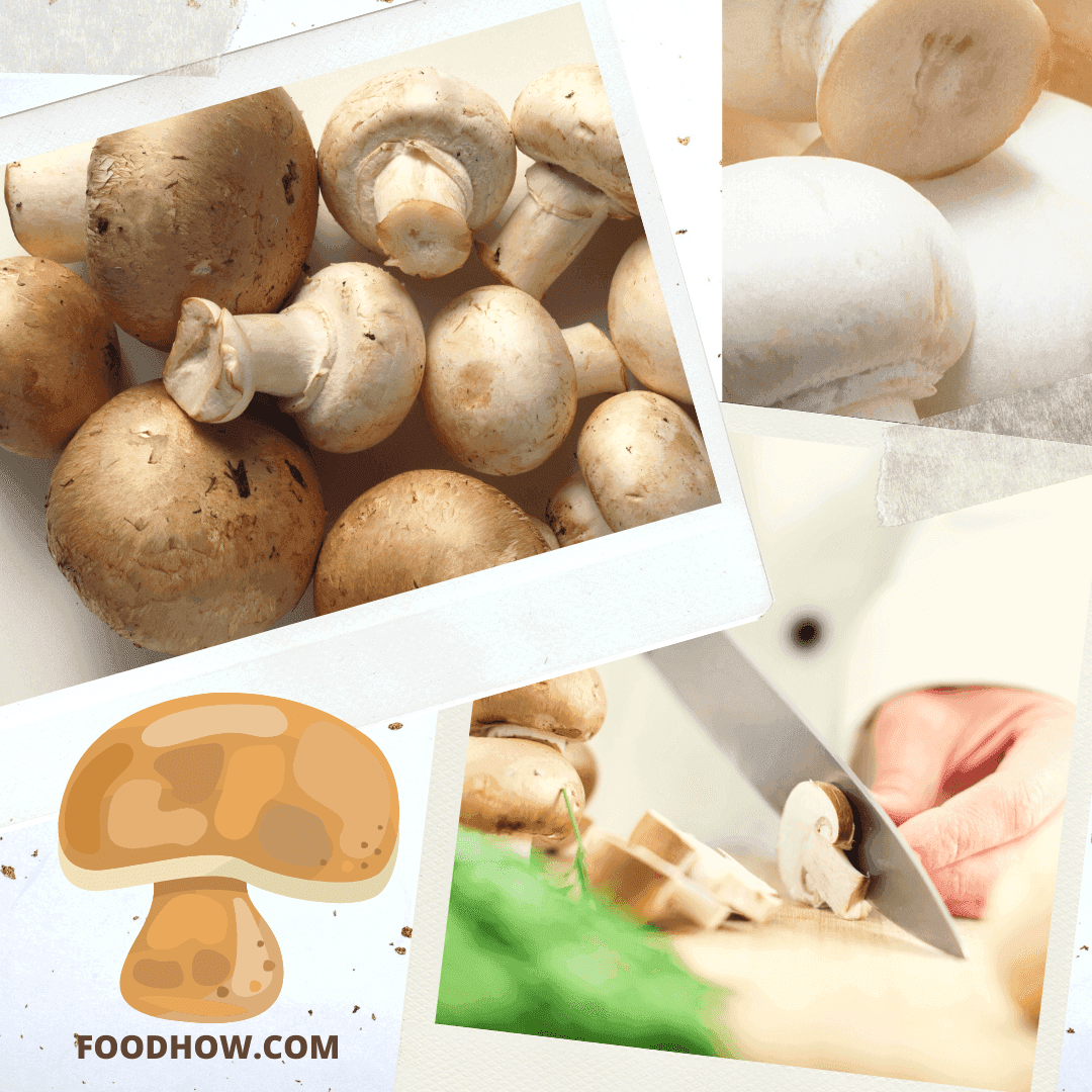 clean portobello mushrooms