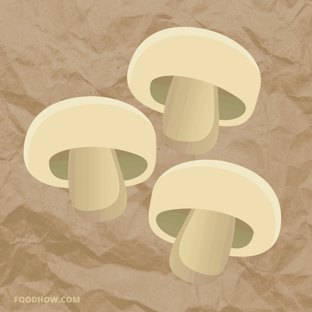 mushrooms in a paper bag