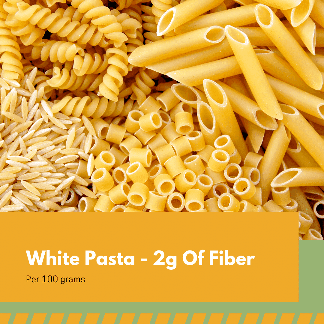 white pasta nutritional information