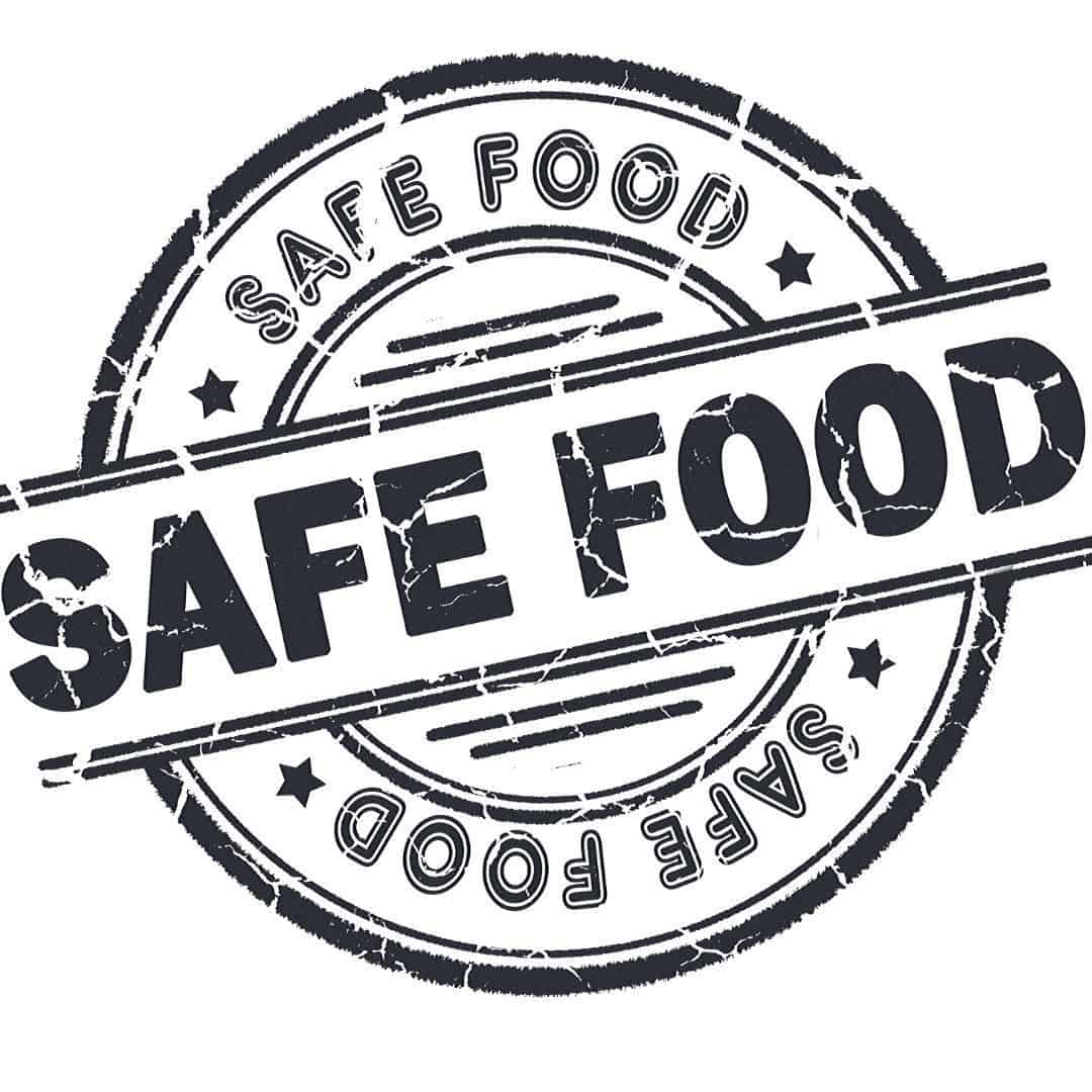 food safety label