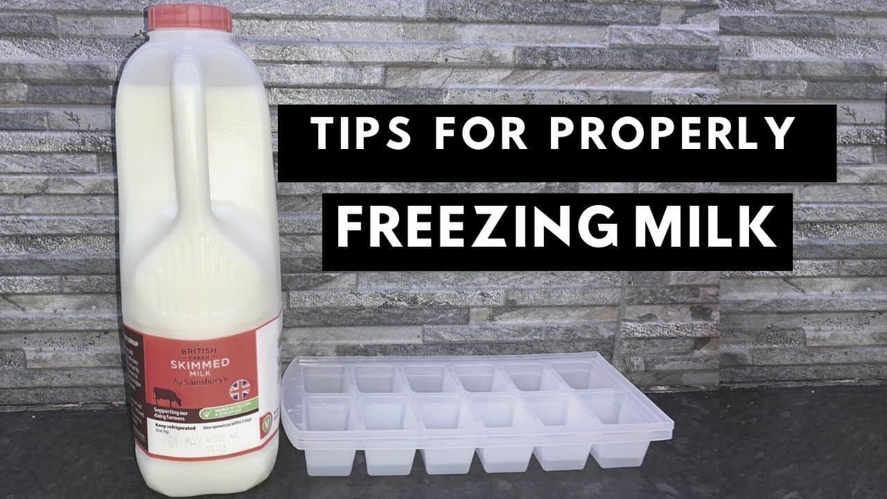 Practical Tips On How To Freeze Milk Safely And Successfully