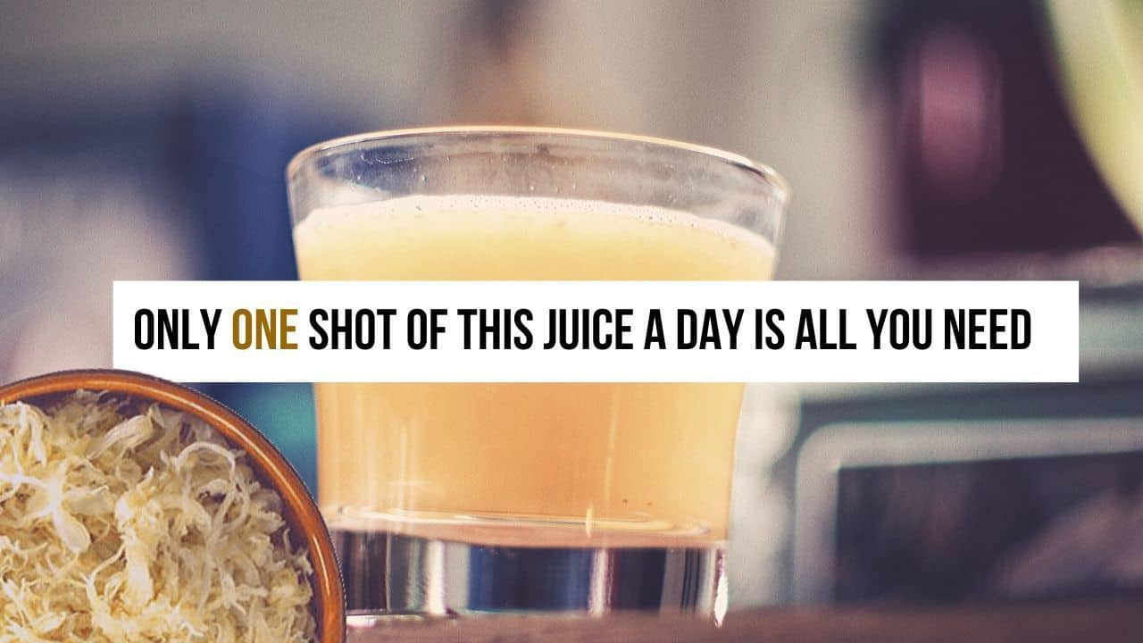 Saurekraut Juice And How Much Should You Drink It Every Day To Get The Full Benefit