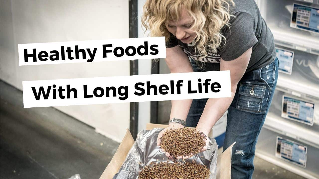 STOP Junk Food Stockpiling —  Stock Up On These Long Lasting Healthy Foods Instead