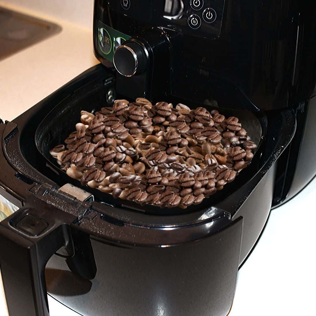 Coffee Beans in an Air Fryer