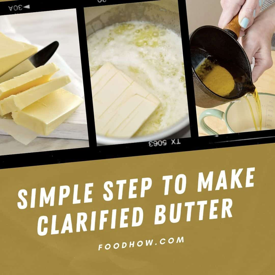 an alternative to cheesecloth for clarified butter