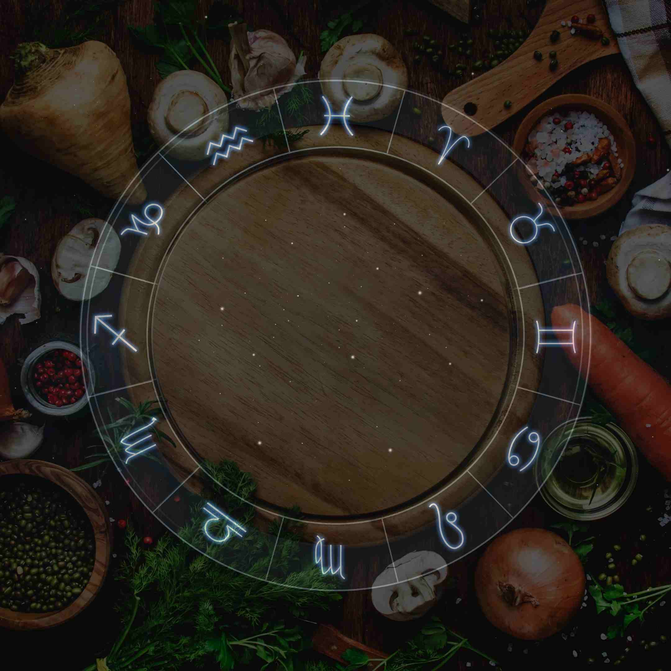 different food for each zodiac sign