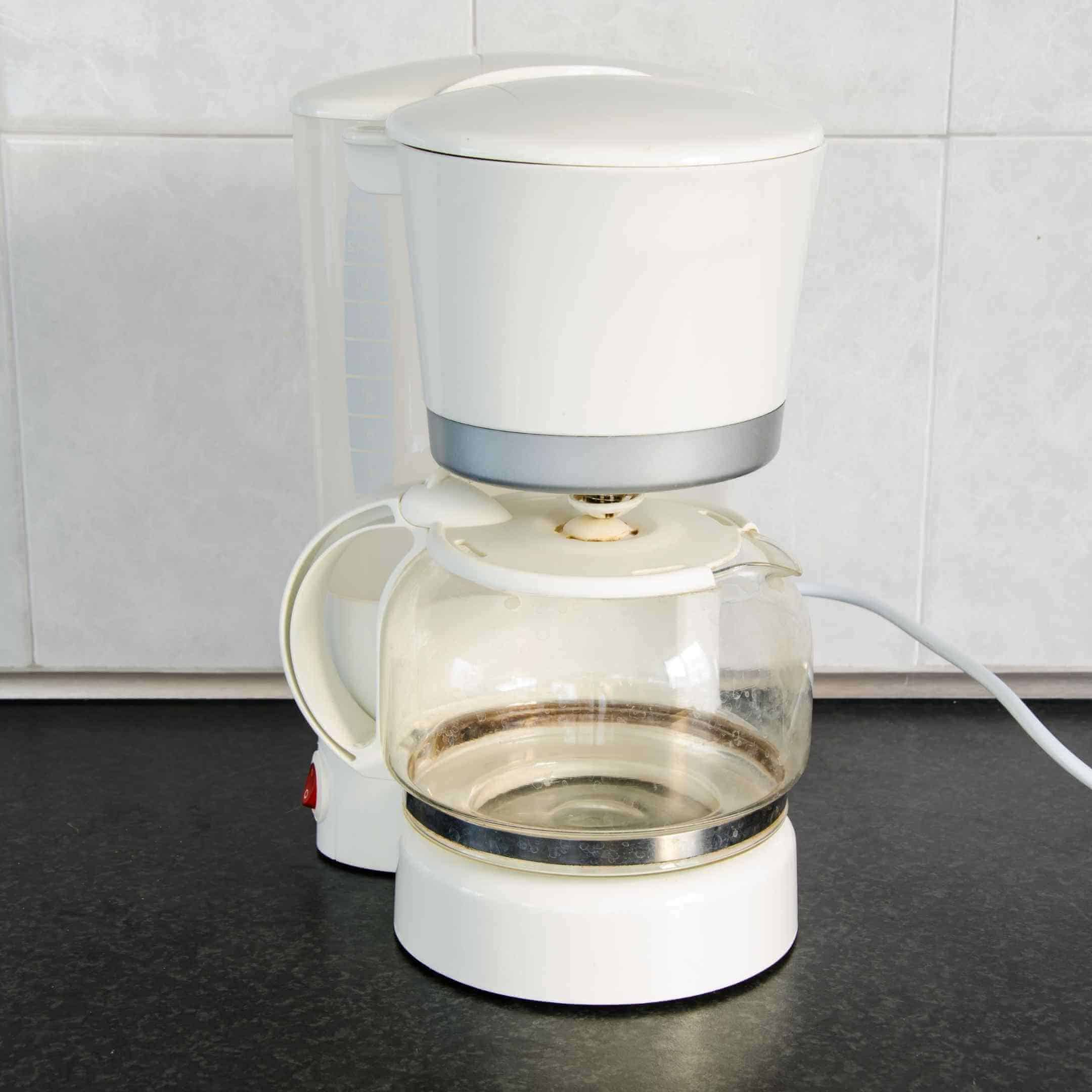coffee maker with heating element