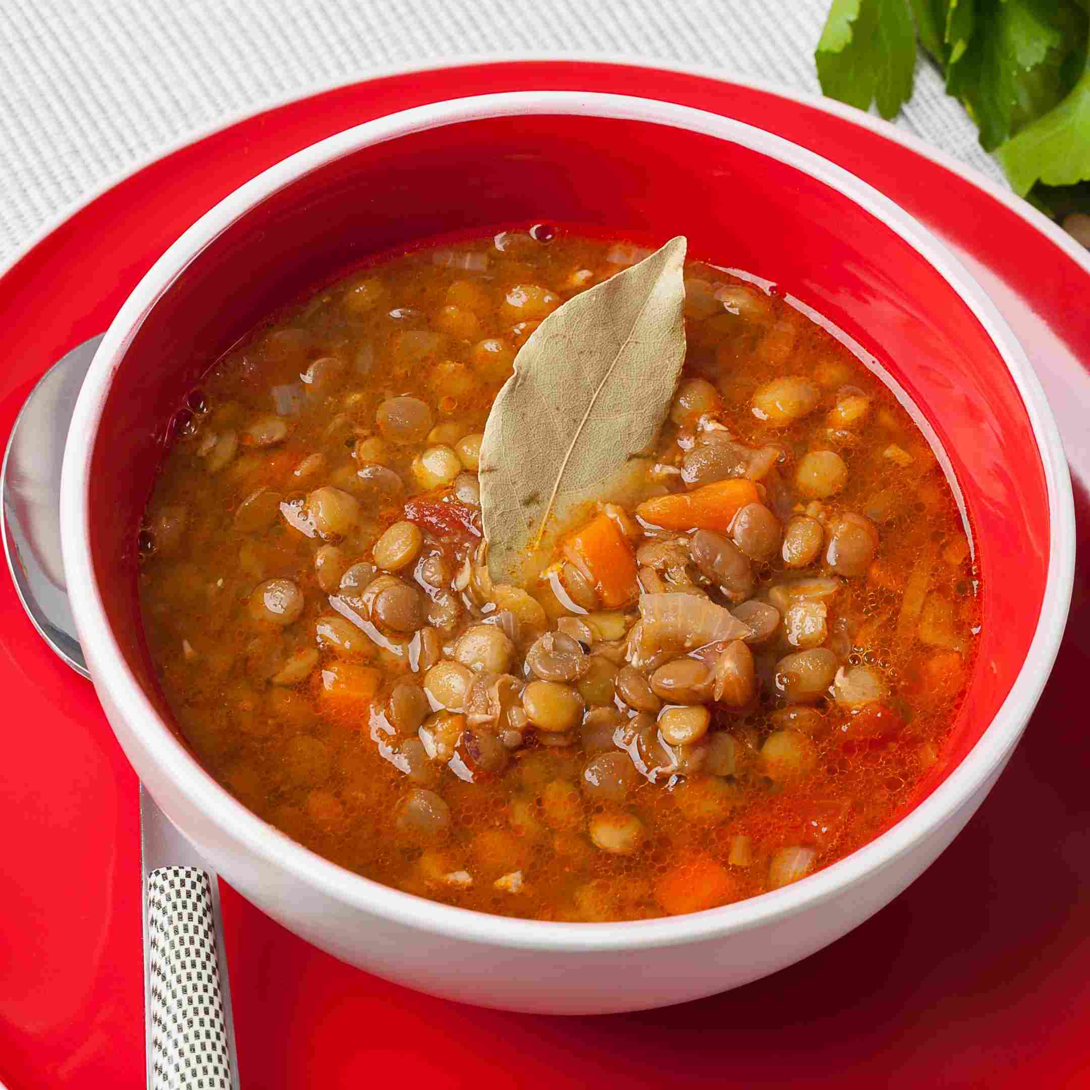 soup made of legumes