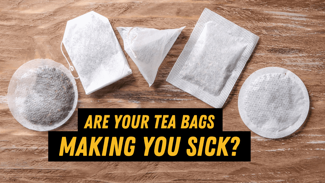 different types of tea bags