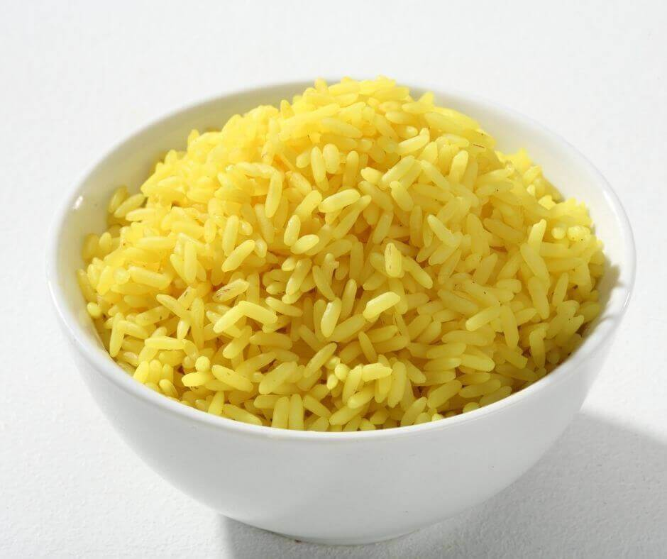 microwave rice out of the packet