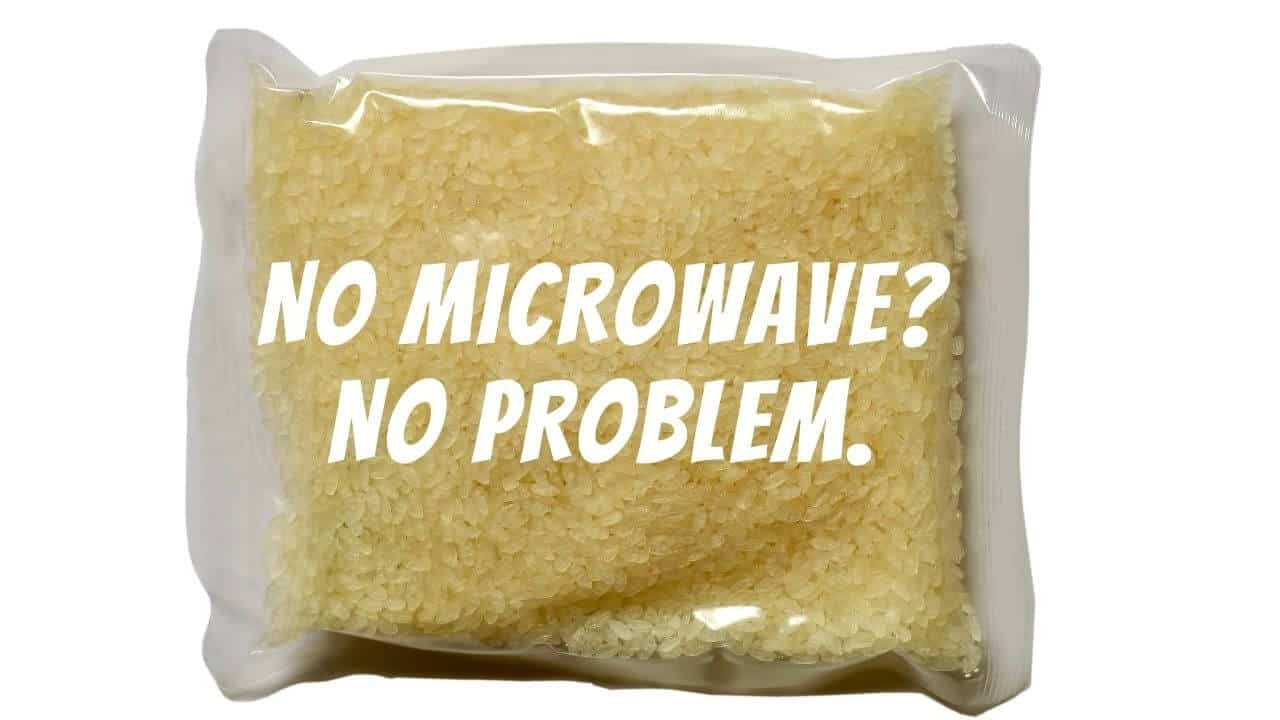 microwavable rice pouches
