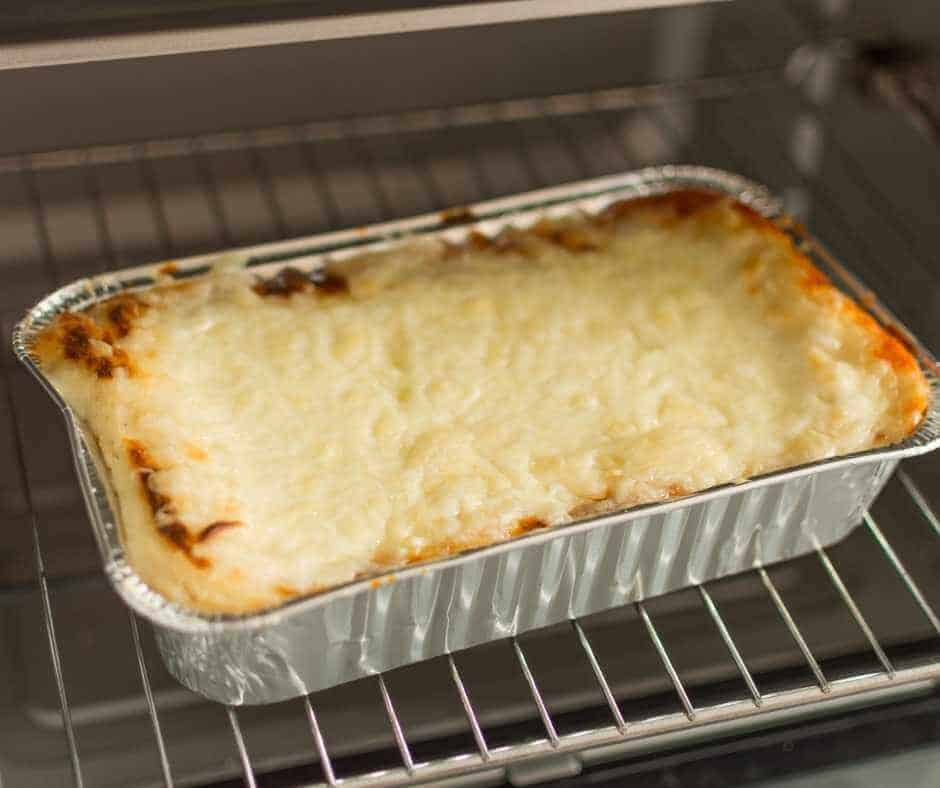 reheating pasta dishes in the oven