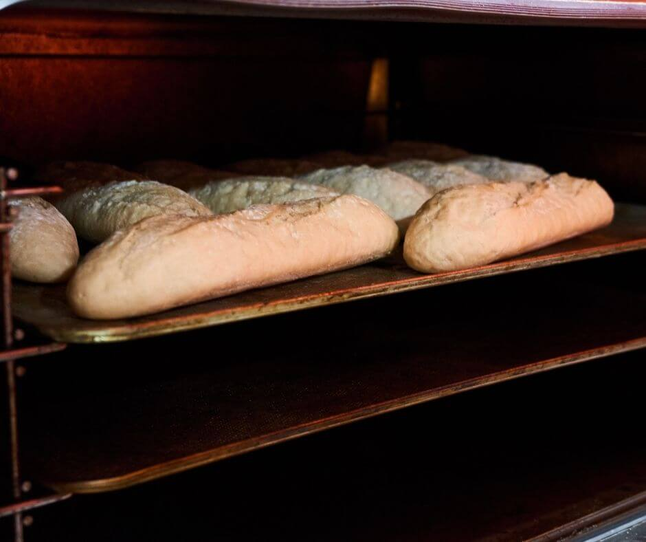 reviving stale baguette in the oven