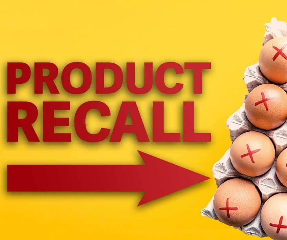 food product recall examples