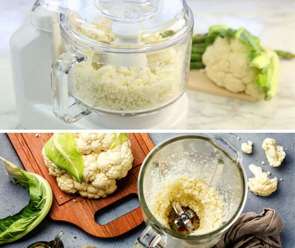 blender compared to food processor