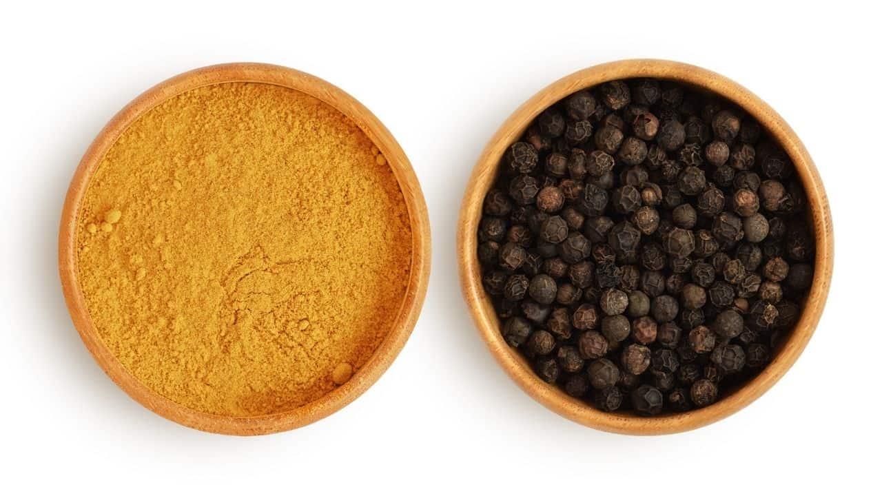 piperine and curcumin