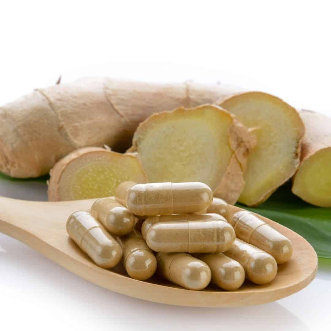 ginger extract capsules