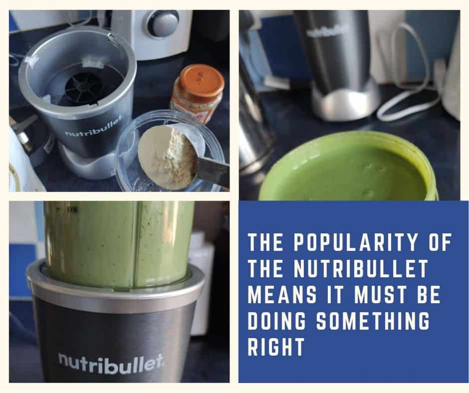 using and testing the nutribullet