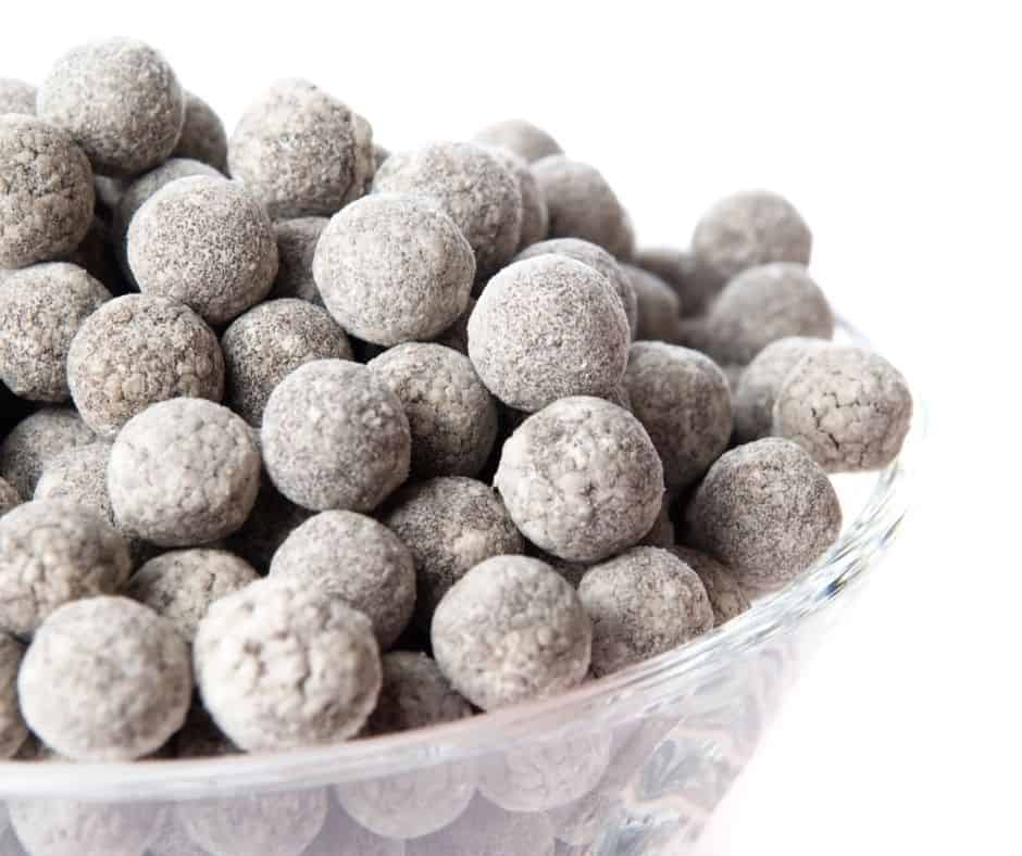 boba pearls hardened in cold