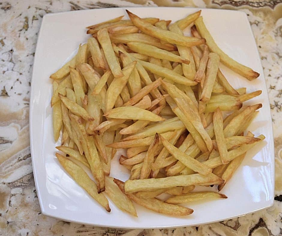 cold leftover french fries