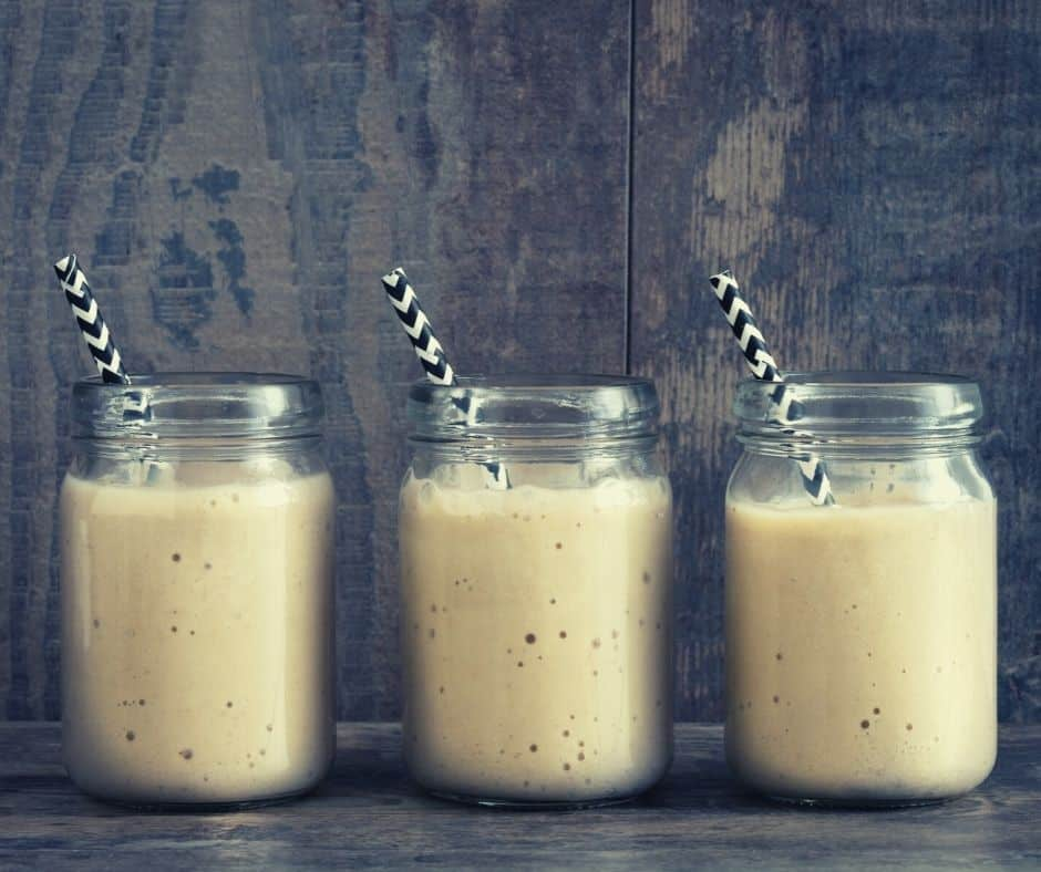 smoothie made with crystallized ginger