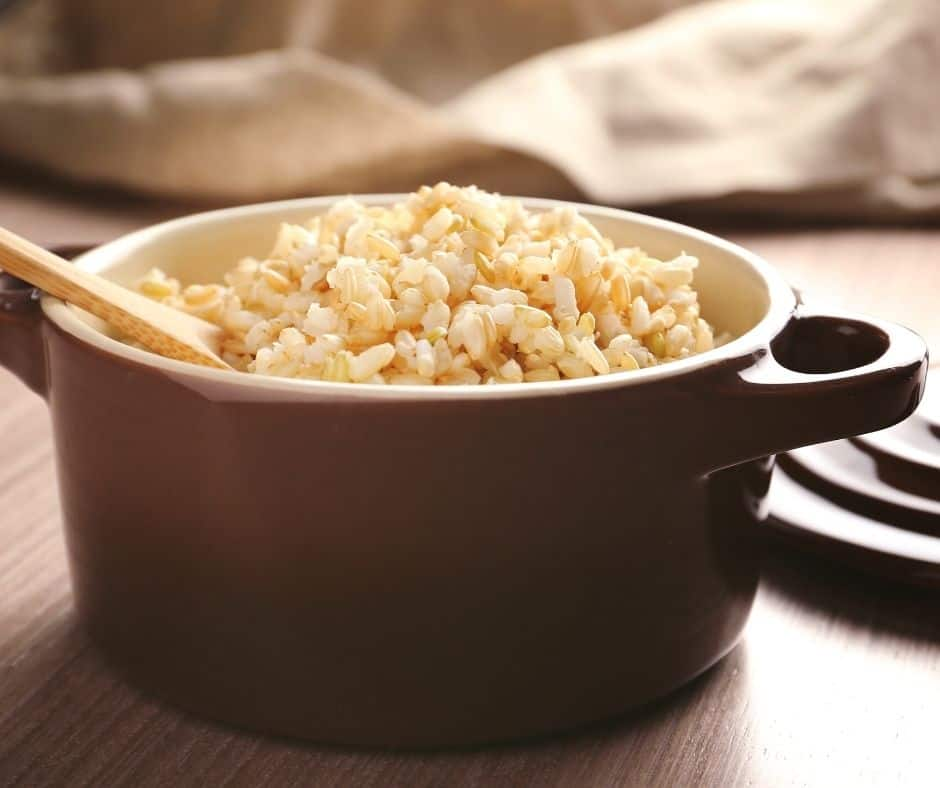 brown rice sticky for sushi