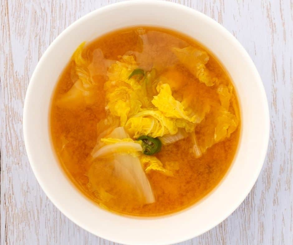 weight loss cabbage soup