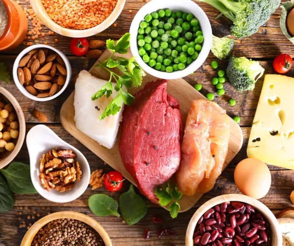 low carb high protein foods