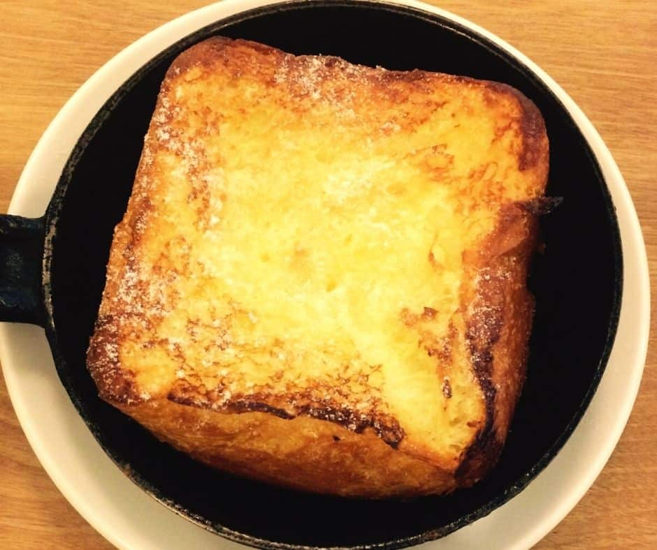make of a classic cinnamon french toast