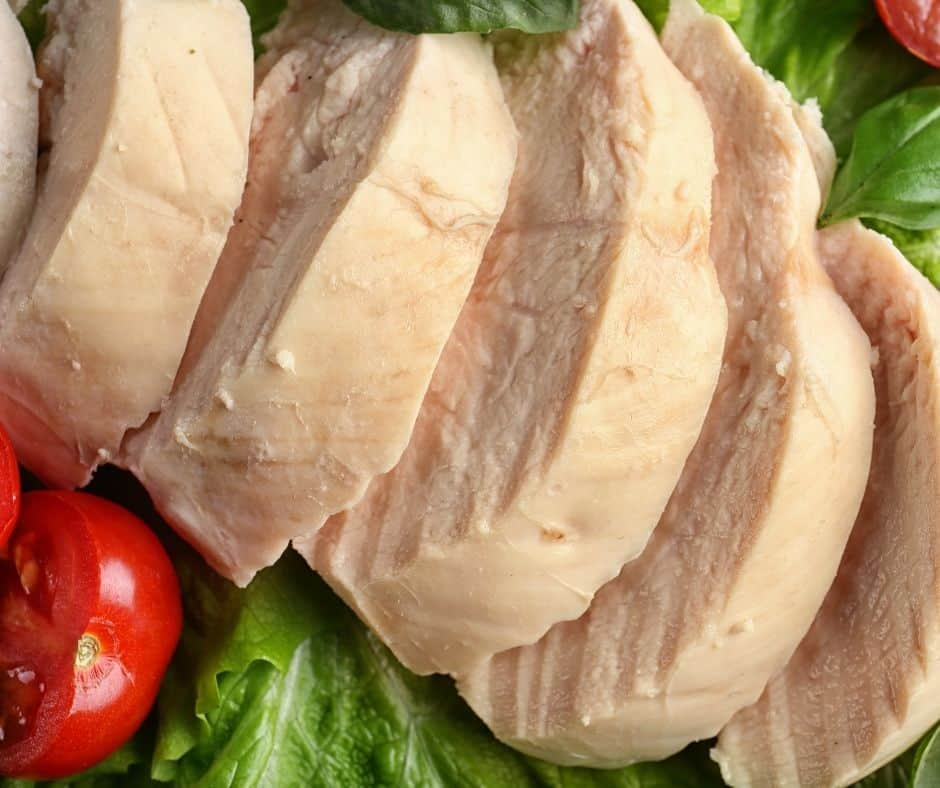 perfect poached chicken