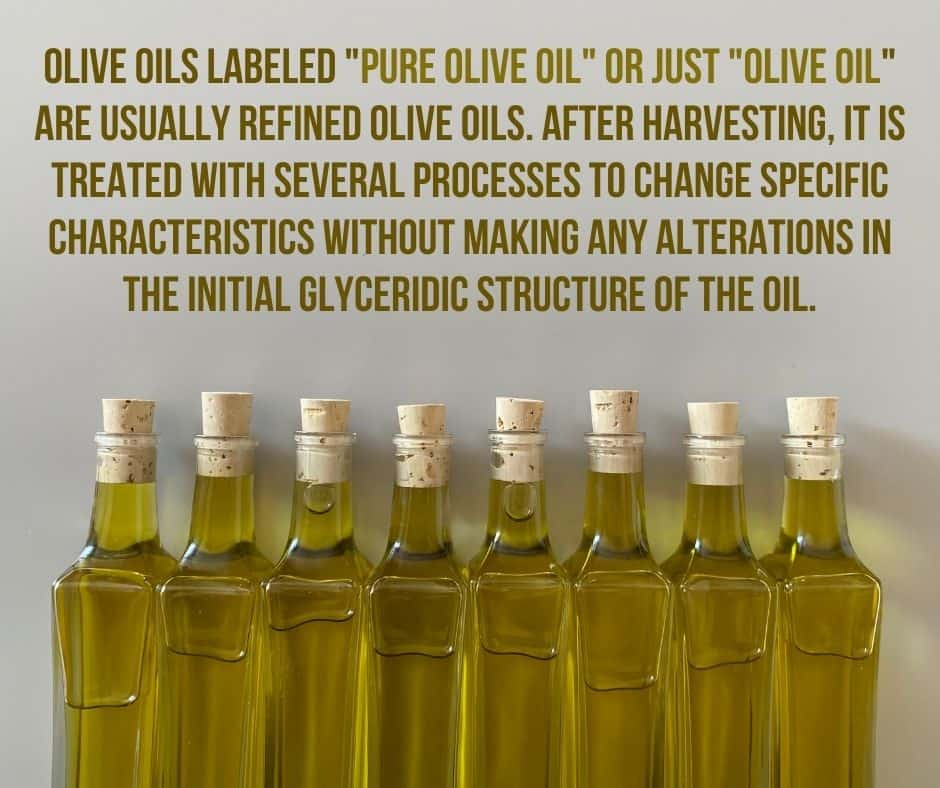 refined olive oil definition
